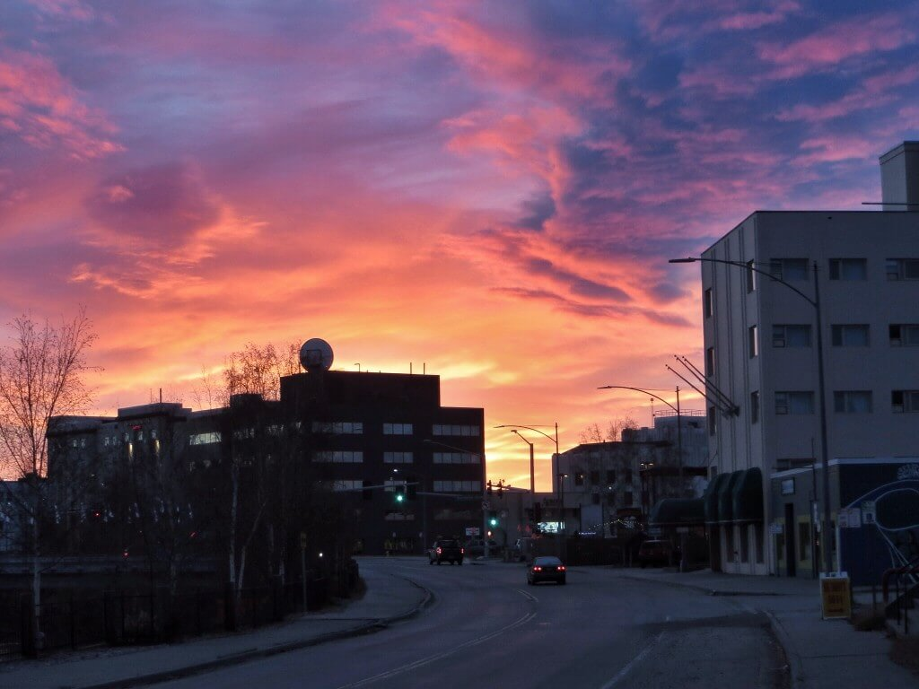 Good morning Fairbanks.