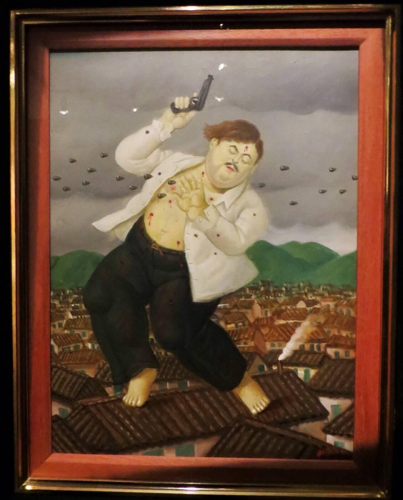 Fernando Botero: La muerte de Pablo Escobar