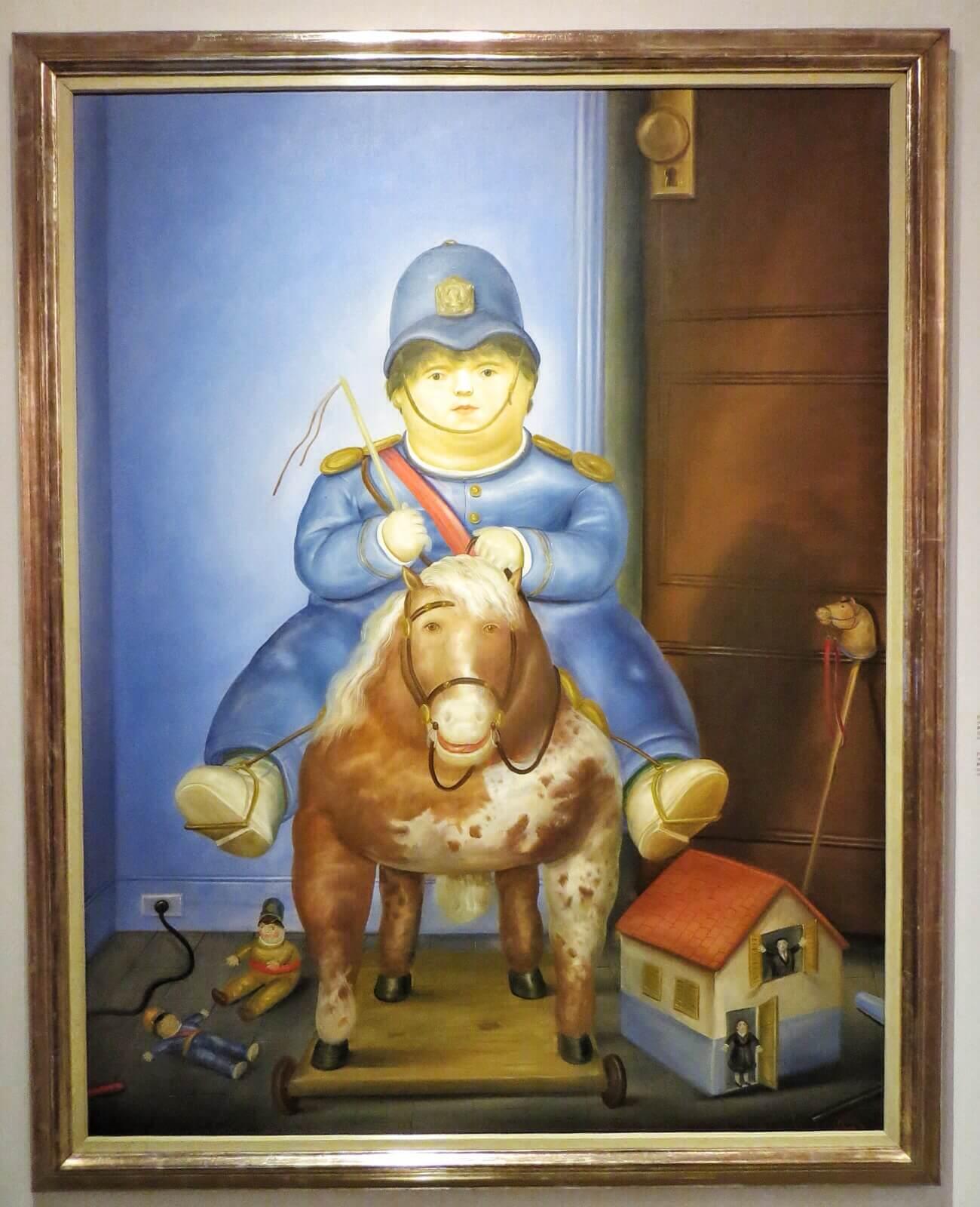 Fernando Botero: Pedro