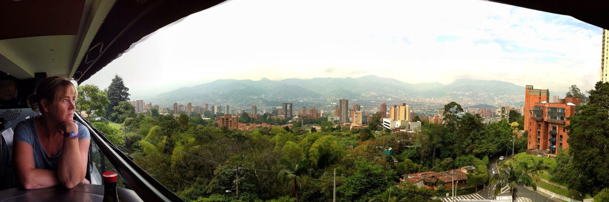 El Terorosta on hyvät näkymät yli kaupungin