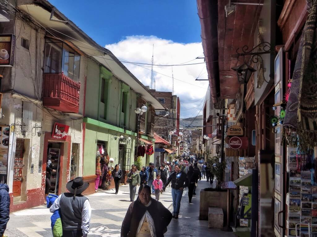 Lima, Punon kävelykatu.