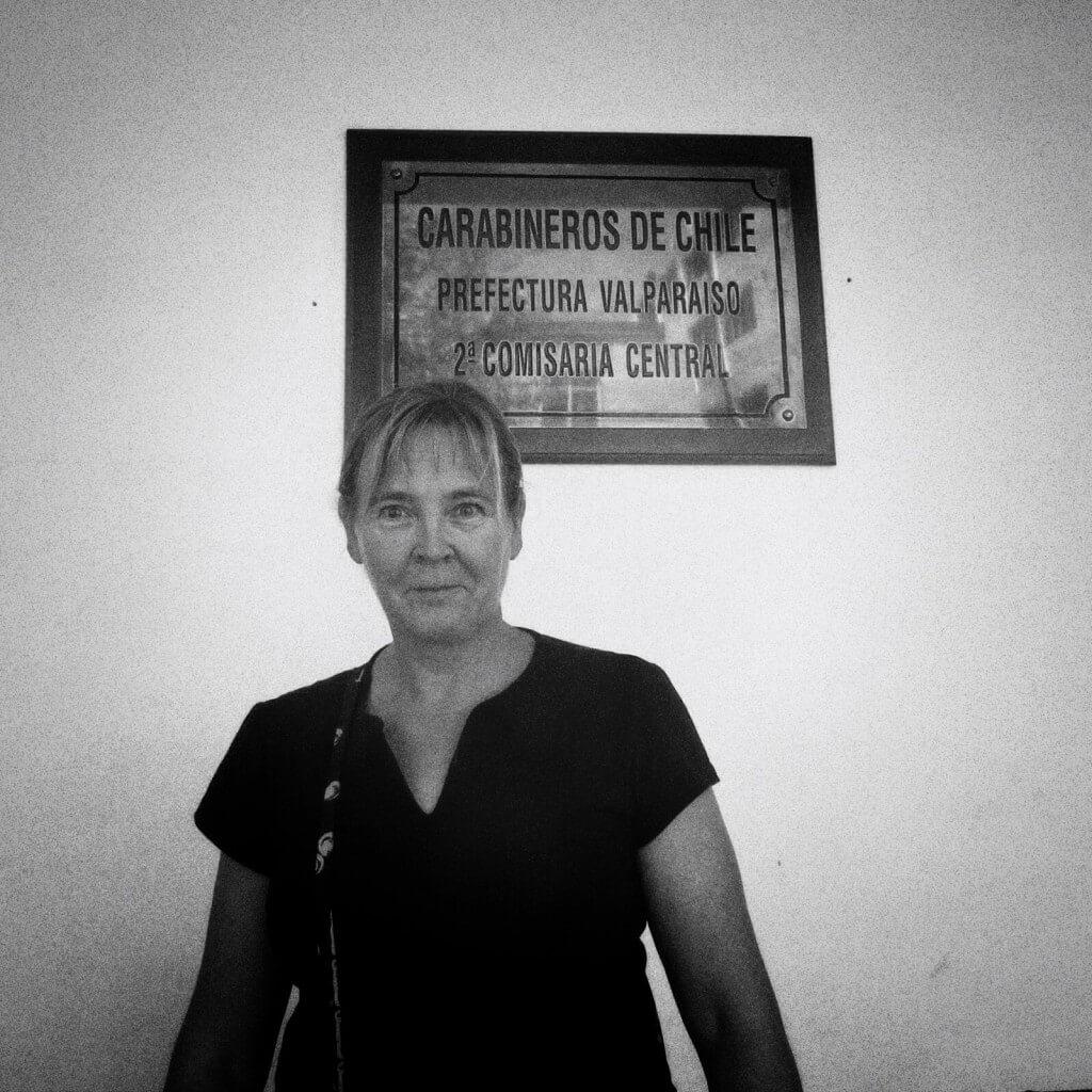 Rikosilmoitus tehty. Kiitokset Cabo 2do De Carabineros Gonzalo Sanhueza Trujillolle asiallisesta palvelusta.