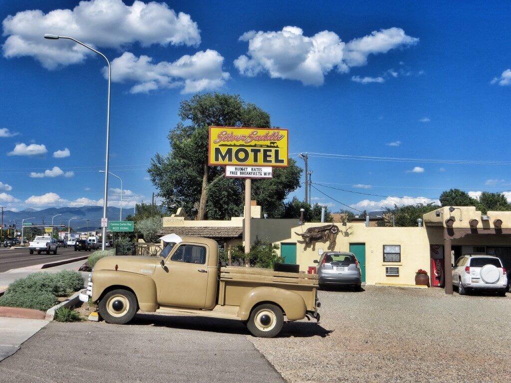 Silver Saddle Motel, jälleen erittäin mukava majapaikka.