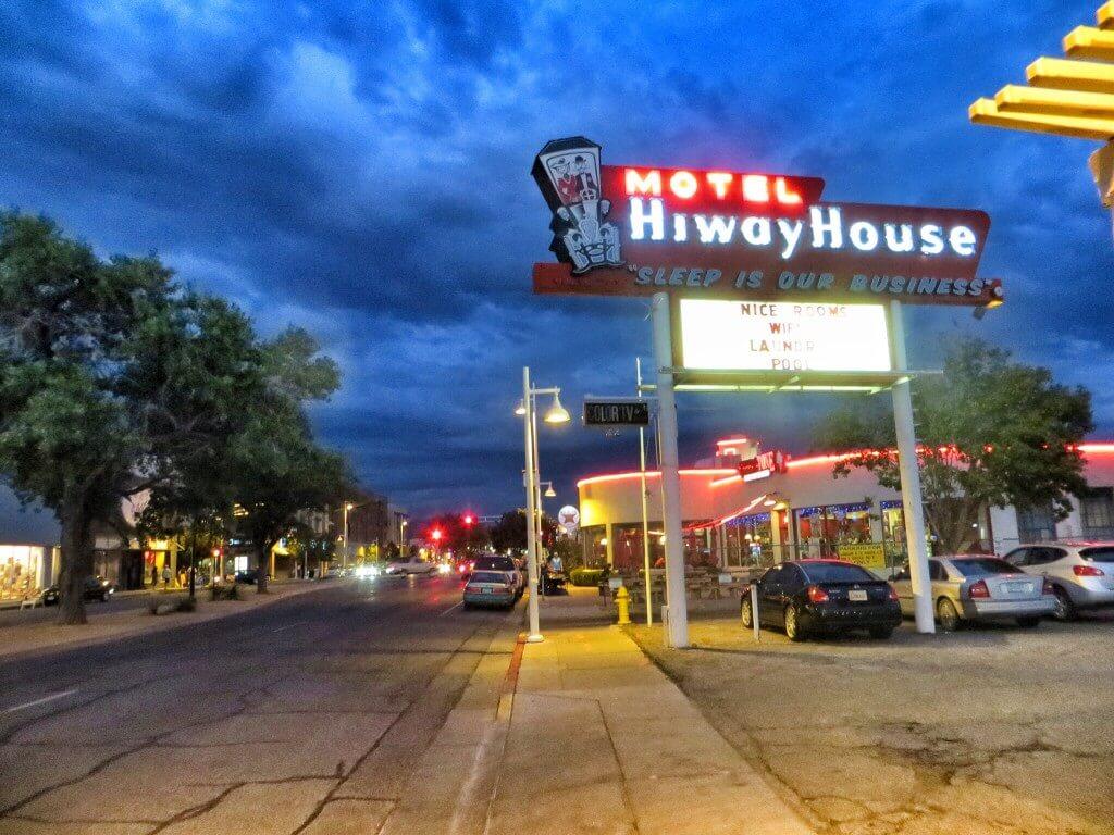 Hiway House Motel, Albuquerque, NM.