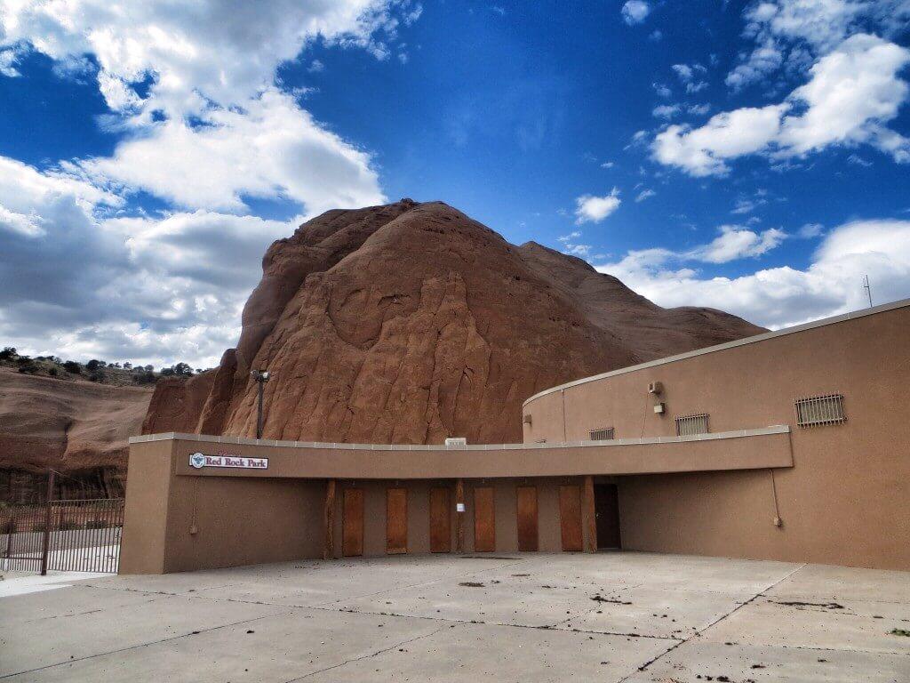 Suljettu. Red Rock Park, Gallup, NM.