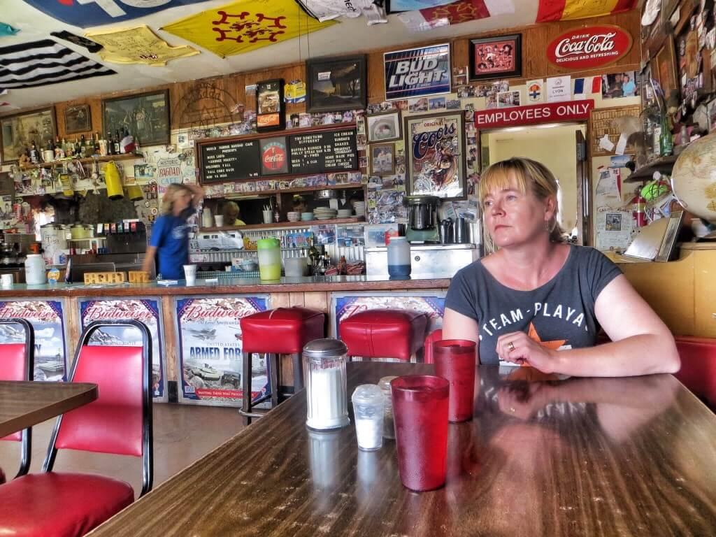 Bagdad Café, Newberry Springs, CA.